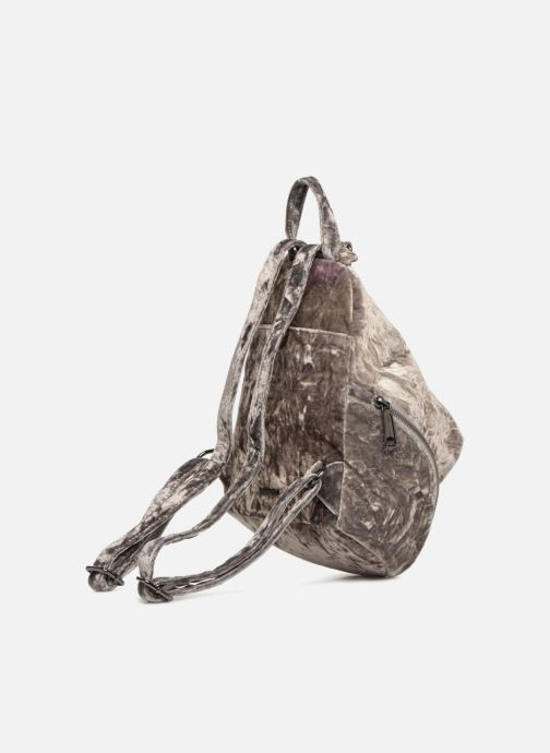 Mochilas Rebecca Minkoff Medium Julian Backpack Gris vista lateral derecha