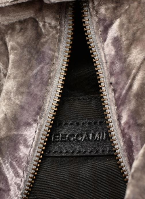 Sacs à dos Rebecca Minkoff Medium Julian Backpack Gris vue derrière