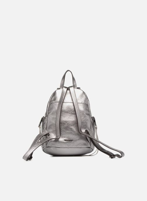 Sacs à dos Rebecca Minkoff Medium Julian Backpack Argent vue face