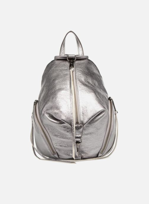 Sacs à dos Rebecca Minkoff Medium Julian Backpack Argent vue détail/paire