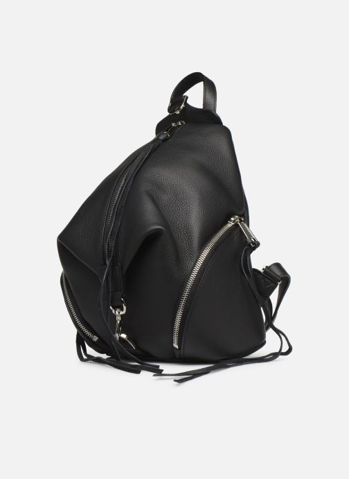 Sacs à dos Rebecca Minkoff Medium Julian Backpack Noir vue portées chaussures