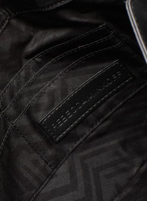 Sacs pochettes Rebecca Minkoff Biker Clutch Noir vue derrière