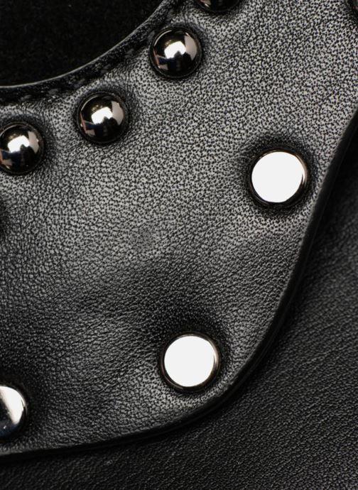 Sacs pochettes Rebecca Minkoff Biker Clutch Noir vue gauche