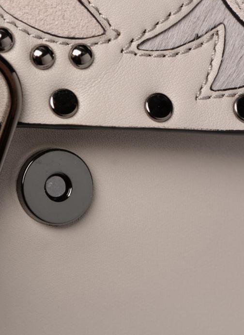 Bolsos de mano Rebecca Minkoff Biker mini Crossbody Gris vista lateral izquierda