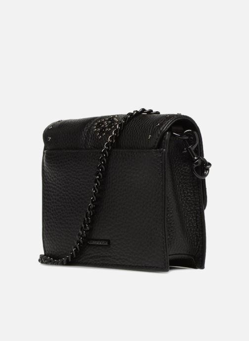 e36c1db228656 Handtaschen Rebecca Minkoff Small flap crossbody schwarz ansicht von rechts