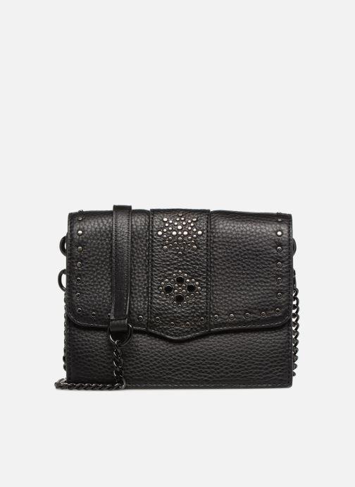 0e46601e0d390 Handtaschen Rebecca Minkoff Small flap crossbody schwarz detaillierte  ansicht modell
