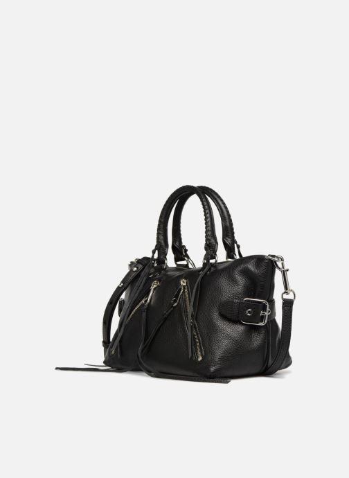 Handtaschen Rebecca Minkoff Moto Satchel Tote schwarz schuhe getragen