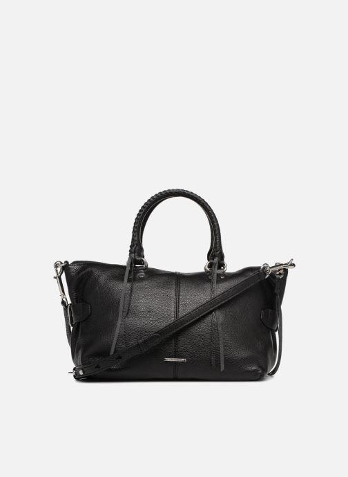 Handtaschen Rebecca Minkoff Moto Satchel Tote schwarz ansicht von vorne