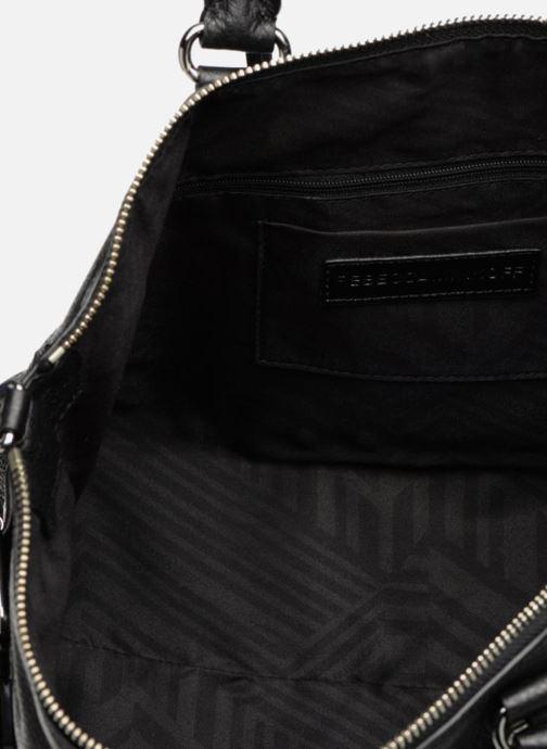 Handtaschen Rebecca Minkoff Moto Satchel Tote schwarz ansicht von hinten