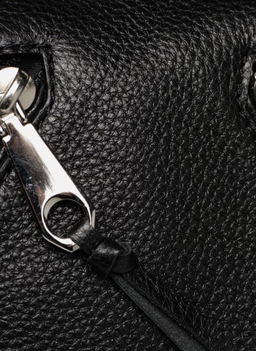Bolsos de mano Rebecca Minkoff Moto Satchel Tote Negro vista lateral izquierda