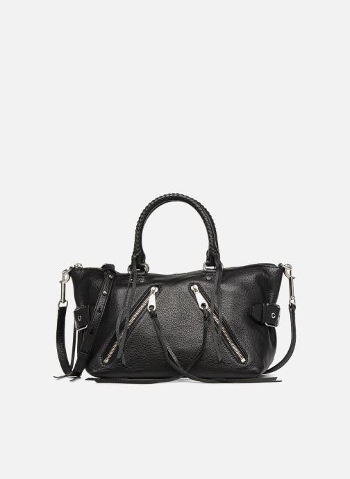 Handtaschen Rebecca Minkoff Moto Satchel Tote schwarz detaillierte ansicht/modell