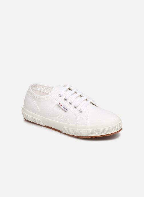 Trainers Superga 2750 J Cotu Classic C White detailed view/ Pair view