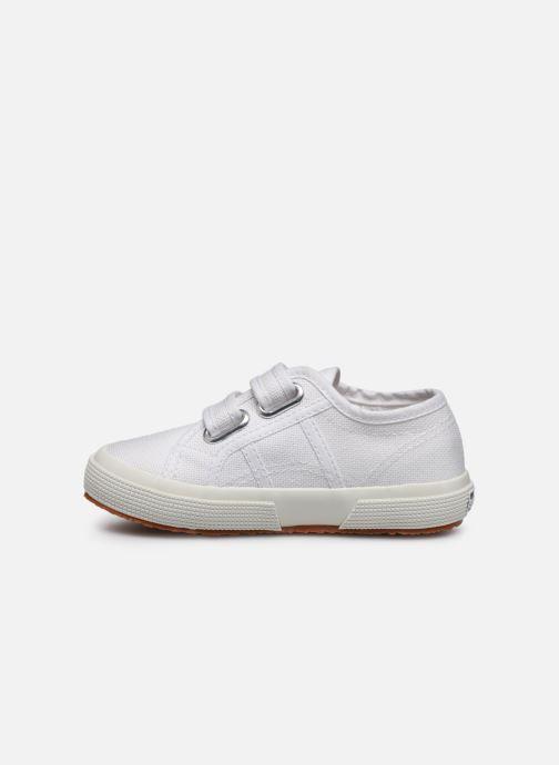 Sneaker Superga 2750 J Velcro E C weiß ansicht von vorne