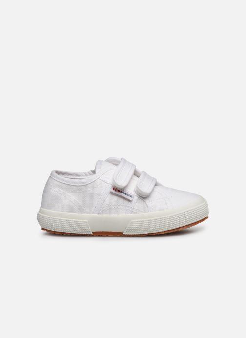 Sneaker Superga 2750 J Velcro E C weiß ansicht von hinten