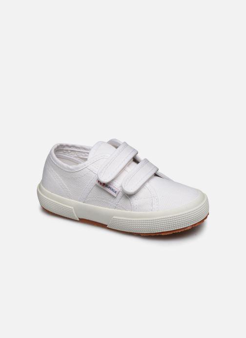 Sneaker Superga 2750 J Velcro E C weiß detaillierte ansicht/modell