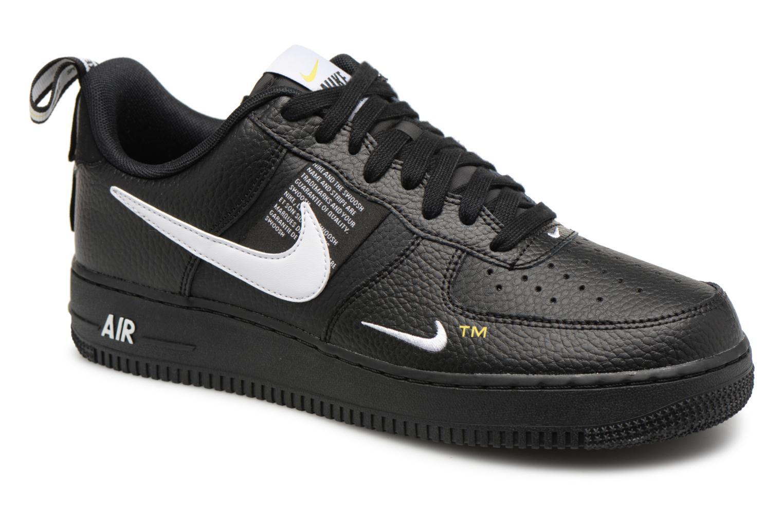 Baskets Nike Air Force 1 '07 Lv8 Utility Noir vue détail/paire
