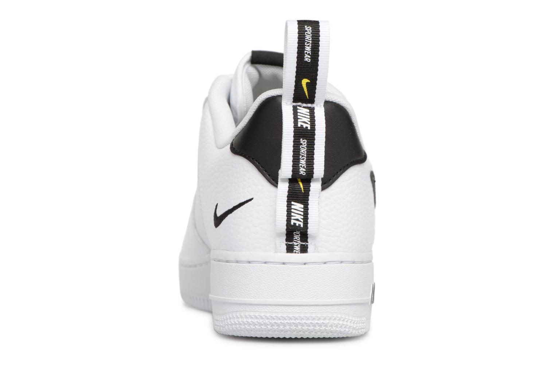 Baskets Nike Air Force 1 '07 Lv8 Utility Blanc vue droite