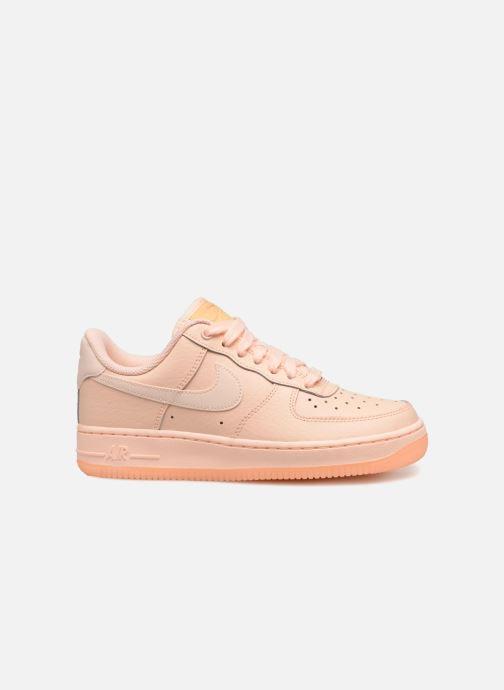 Sneaker Nike Wmns Air Force 1 '07 Ess orange ansicht von hinten