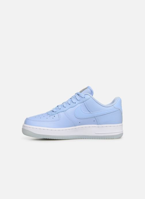 Baskets Nike Wmns Air Force 1 '07 Ess Bleu vue face