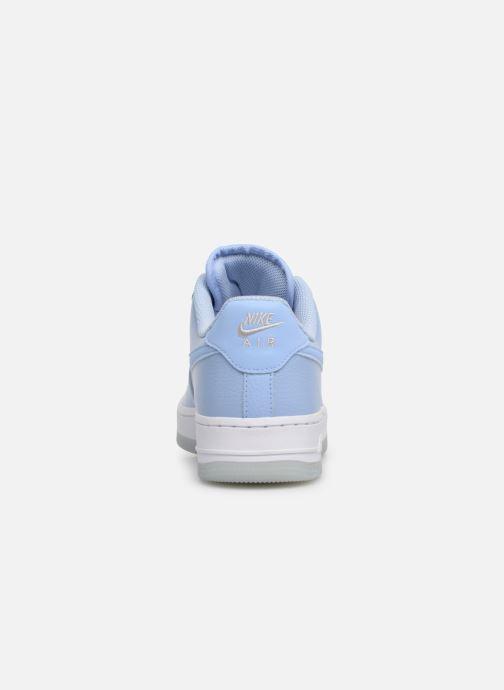 Baskets Nike Wmns Air Force 1 '07 Ess Bleu vue droite