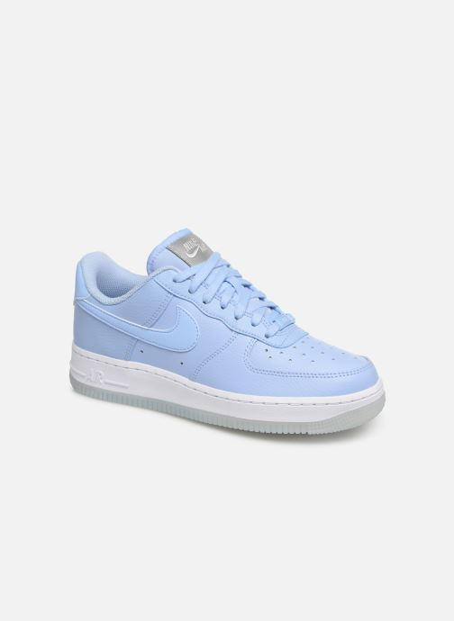 Baskets Nike Wmns Air Force 1 '07 Ess Bleu vue détail/paire