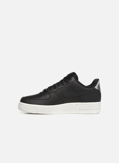 Trainers Nike Wmns Air Force 1 '07 Ess Black front view