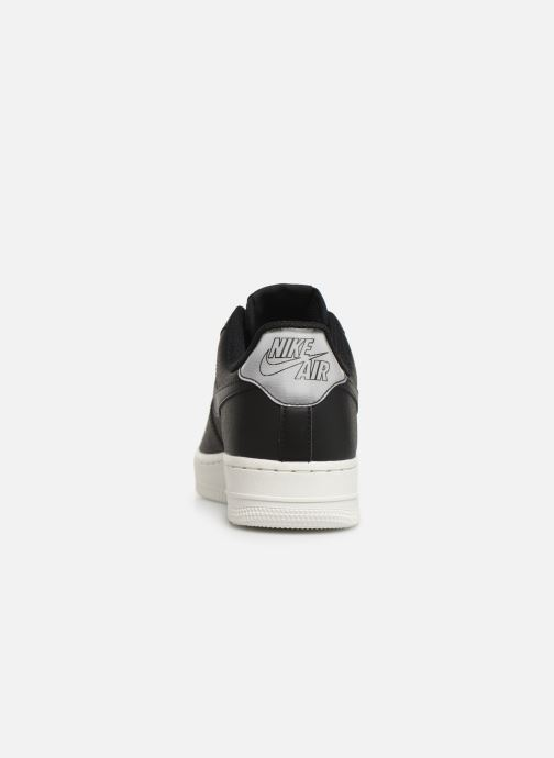 Trainers Nike Wmns Air Force 1 '07 Ess Black view from the right