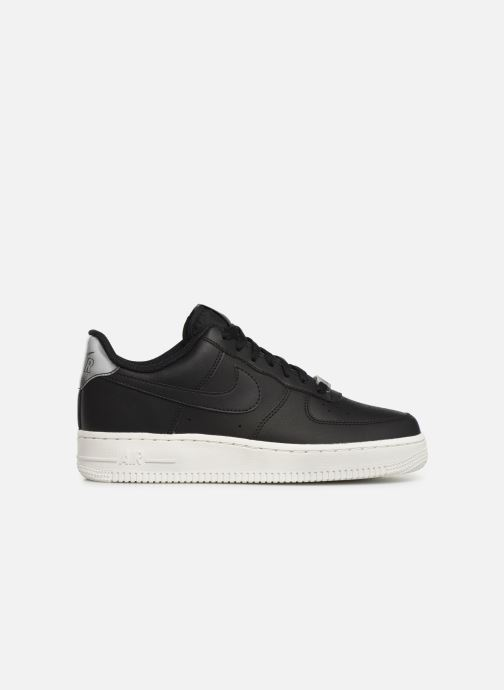 Trainers Nike Wmns Air Force 1 '07 Ess Black back view