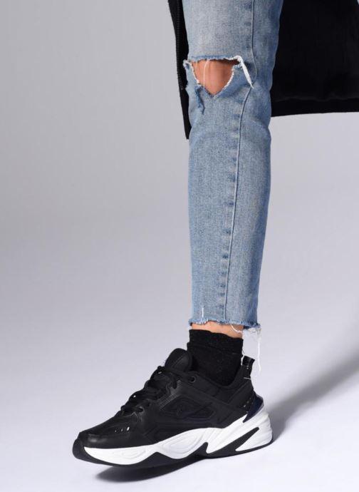 Sneaker Nike W Nike M2K Tekno weiß ansicht von unten / tasche getragen