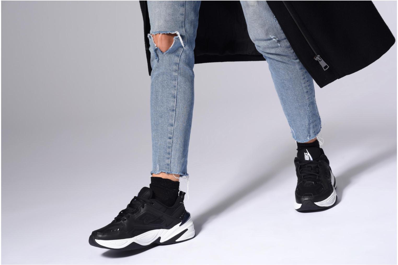 Baskets Nike W Nike M2K Tekno Blanc vue bas / vue portée sac