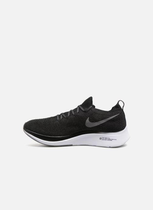Sportschuhe Nike Nike Zoom Fly Flyknit schwarz ansicht von vorne