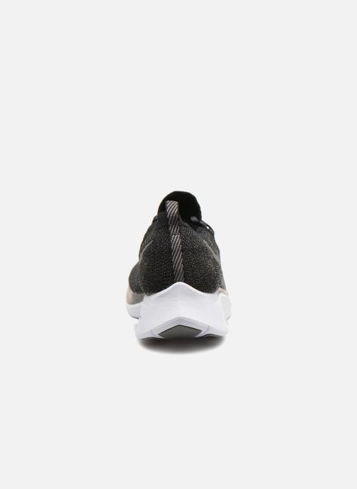 Chaussures de sport Nike Nike Zoom Fly Flyknit Noir vue droite