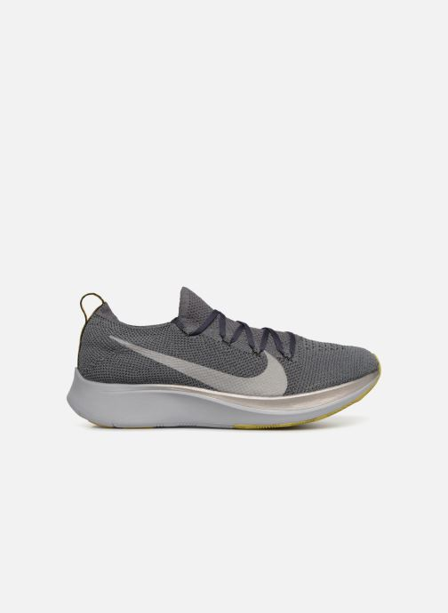 Sport shoes Nike Nike Zoom Fly Flyknit Grey back view