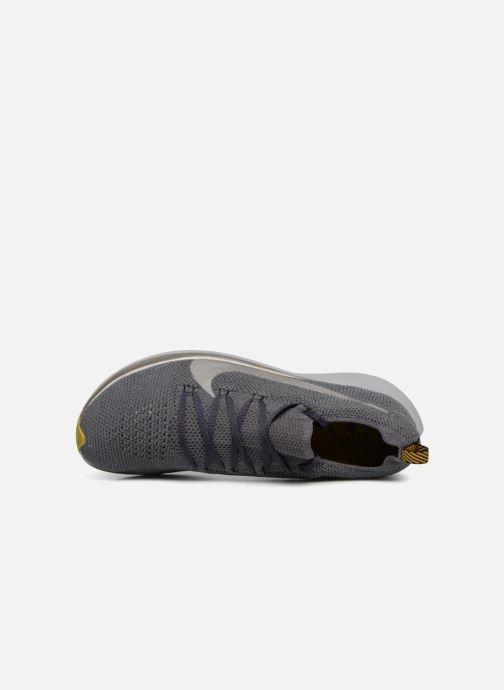 Sportschuhe Nike Nike Zoom Fly Flyknit grau ansicht von links