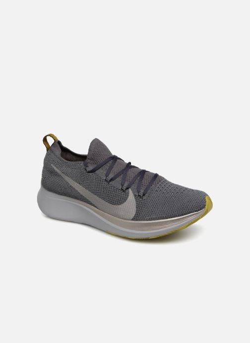 Sport shoes Nike Nike Zoom Fly Flyknit Grey detailed view/ Pair view