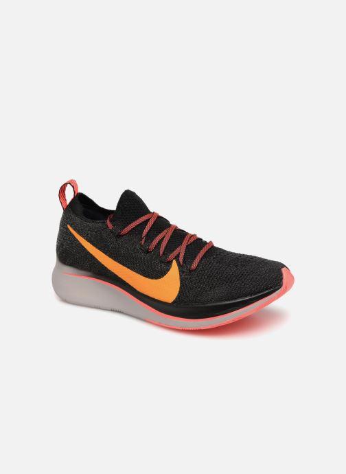 huge selection of 574e4 10c5f Chaussures de sport Nike W Nike Zoom Fly Flyknit Noir vue détail paire