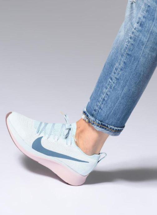 Zapatillas de deporte Nike W Nike Zoom Fly Flyknit Azul vista de abajo