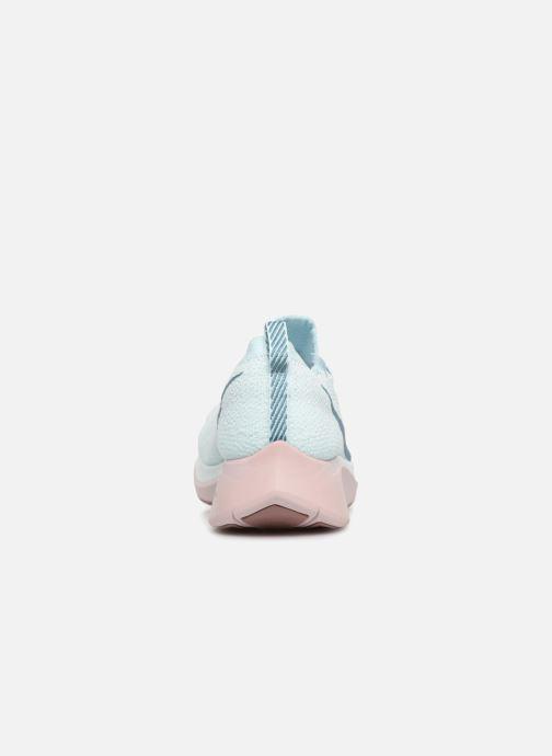 Zapatillas de deporte Nike W Nike Zoom Fly Flyknit Azul vista lateral derecha
