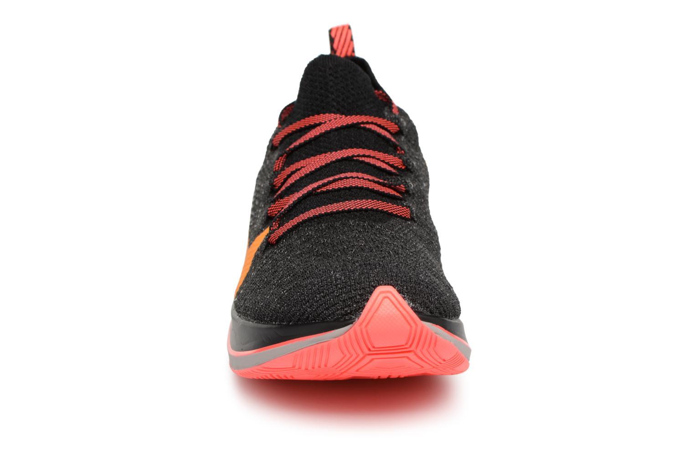 Sportschuhe Nike W Nike Zoom Fly Flyknit schwarz schuhe getragen