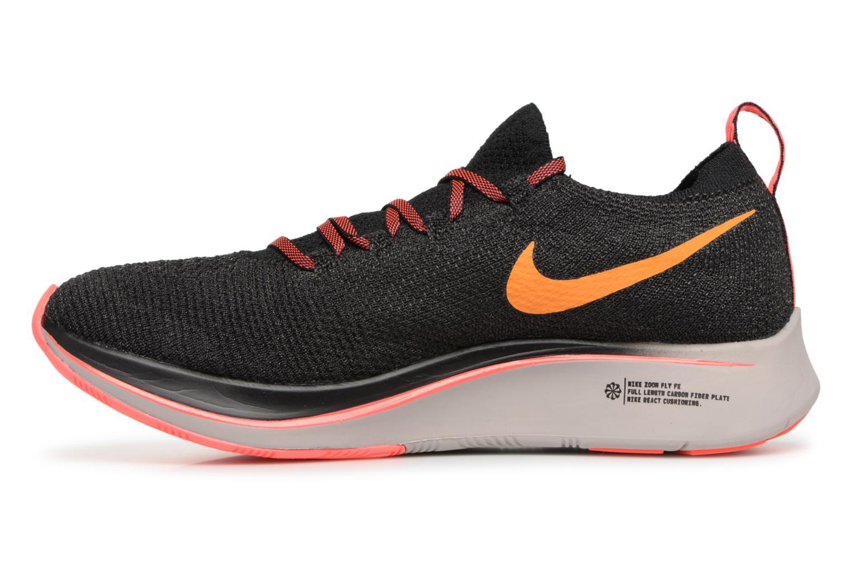 Sportschuhe Nike W Nike Zoom Fly Flyknit schwarz ansicht von vorne