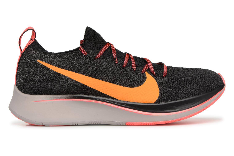 Sportschuhe Nike W Nike Zoom Fly Flyknit schwarz ansicht von hinten