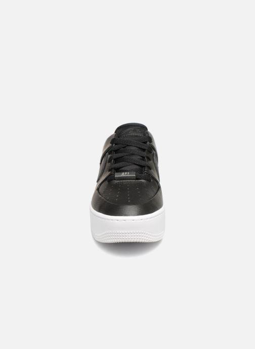 Baskets Nike Wmn Air force 1 Sage Low Noir vue portées chaussures
