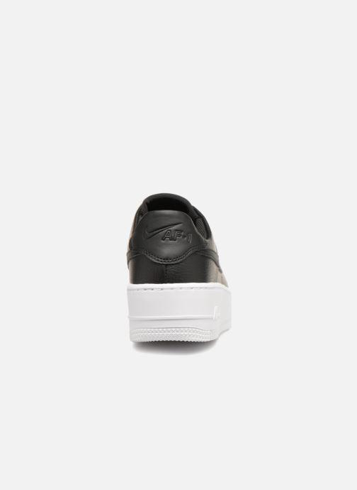 Baskets Nike Wmn Air force 1 Sage Low Noir vue droite