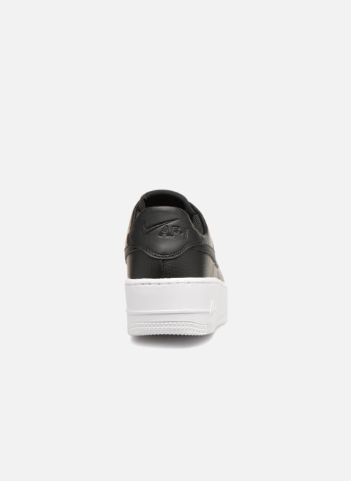 Sneakers Nike Wmn Air force 1 Sage Low Zwart rechts