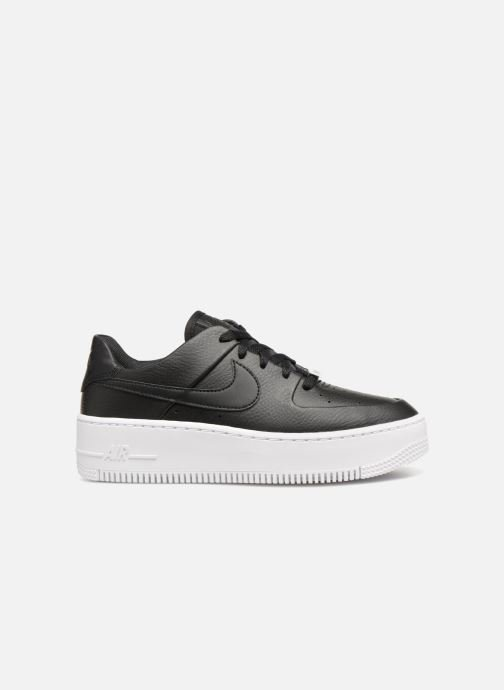 Sneakers Nike Wmn Air force 1 Sage Low Zwart achterkant