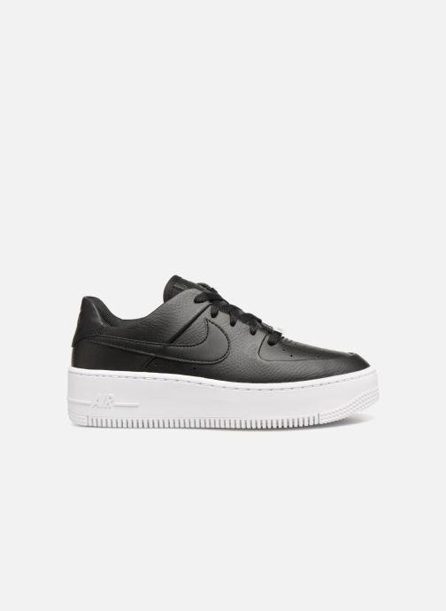 Deportivas Nike Wmn Air force 1 Sage Low Negro vistra trasera