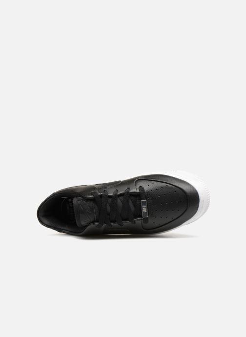 Sneaker Nike Wmn Air force 1 Sage Low schwarz ansicht von links