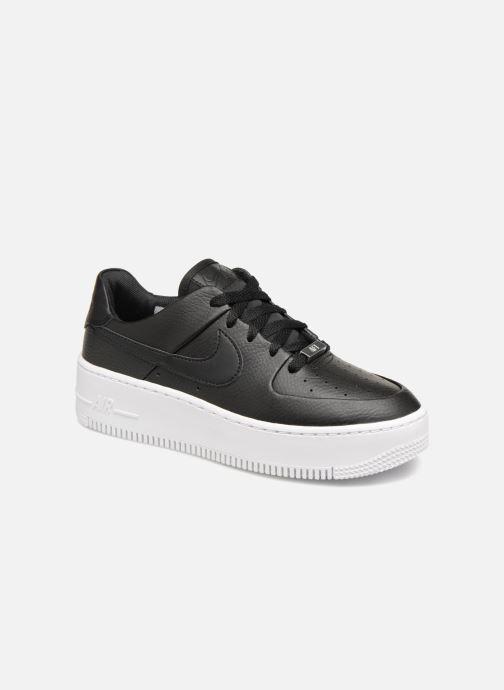 Sneakers Nike Wmn Air force 1 Sage Low Zwart detail