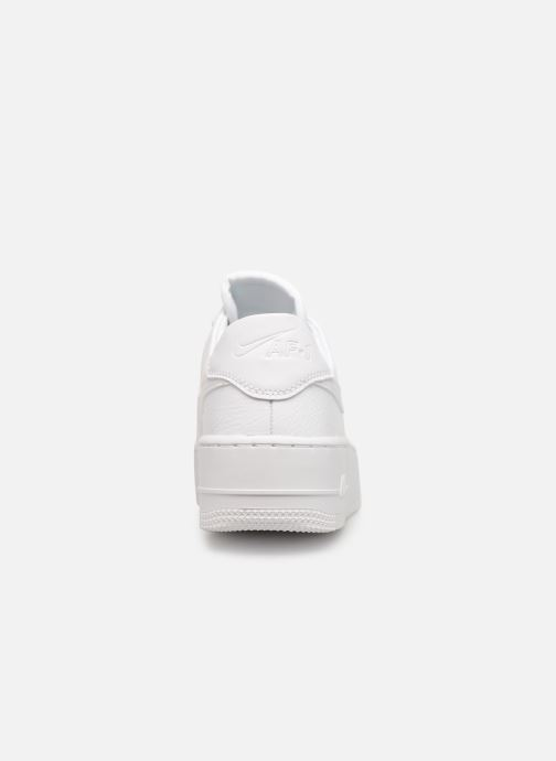 Baskets Nike Wmn Air force 1 Sage Low Blanc vue droite