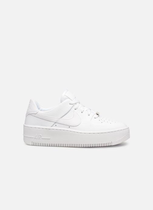 Sneaker Nike Wmn Air force 1 Sage Low weiß ansicht von hinten